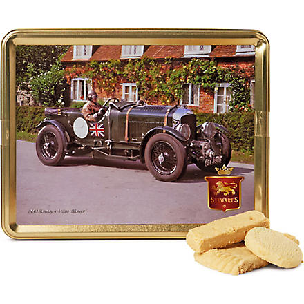 1950s classic car shortbread gift tin 425g