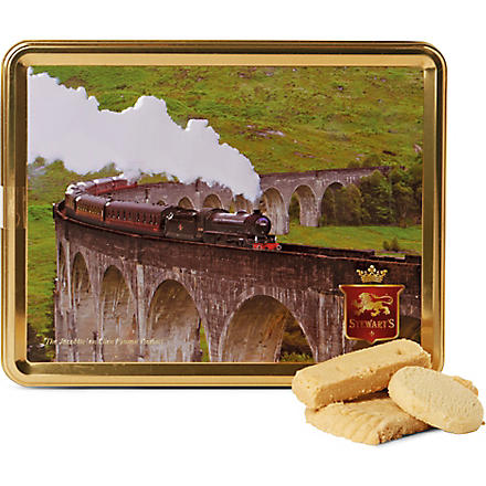 Jacobite shortbread gift tin 425g