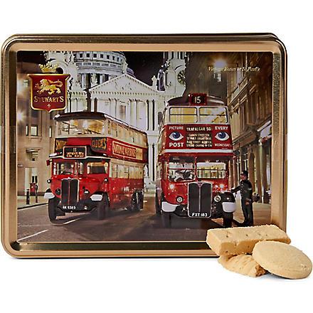 Vintage bus shortbread gift tin 425g