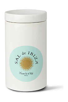 IBIZA Fine kitchen sea salt ceramic container 665g