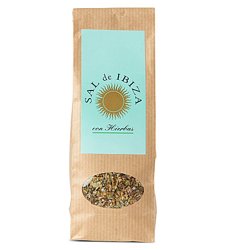 IBIZA Granito con Hierbas natural sea salt with herbs 150g