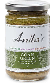 ANILA'S Goan Green curry sauce 300g