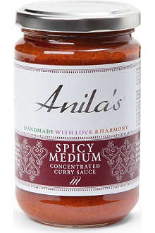 ANILA'S Spicy Medium curry sauce 300g