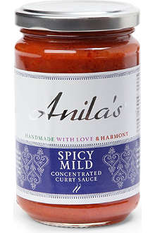 ANILA'S Spicy Mild curry sauce 300g