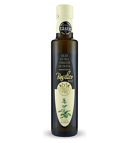 THE OLIVE OIL CO Basilico olive oil 250ml