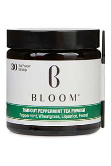 BLOOM Timeout Peppermint tea powder 30g