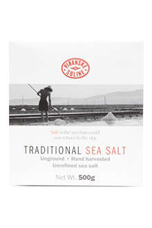 PIRANSKE SOLINE Traditional sea salt box 500g