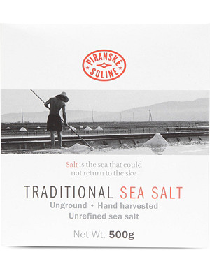 NONE Traditional sea salt box 500g