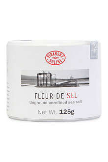 PIRAN SEA SALT Fleur de Sel unground and unrefined sea salt tube 125g