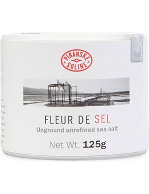 NONE Fleur de Sel unground and unrefined sea salt tube 125g