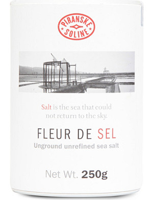 NONE Fleur de Sel unground and unrefined sea salt tube 250g
