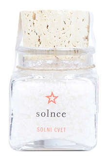 PIRANSKE SOLINE Fleur de Sel unground and unrefined sea salt bottle 70g