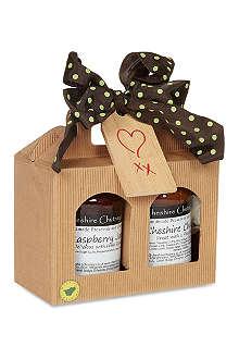 THE CHESHIRE CHUTNEY COMPANY Chutney and Jam jar gift set 550g