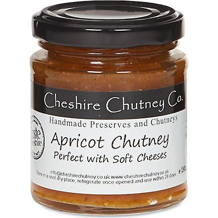 THE CHESHIRE CHUTNEY COMPANY Apricot chutney 150g