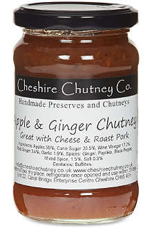 THE CHESHIRE CHUTNEY COMPANY Apple and ginger chutney 290g