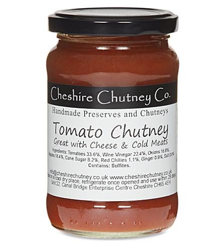 THE CHESHIRE CHUTNEY COMPANY Tomato chutney 275g