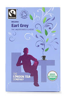 LONDON TEA Organic Earl Grey tea sachets 40g