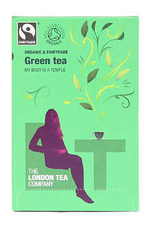 LONDON TEA Organic Green tea sachets