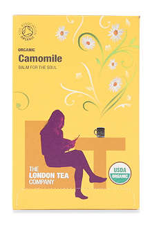 LONDON TEA Organic Camomile tea sachets 40g