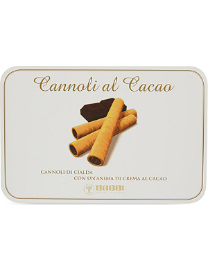 BISCUITS Cocoa cream cannoli 150g