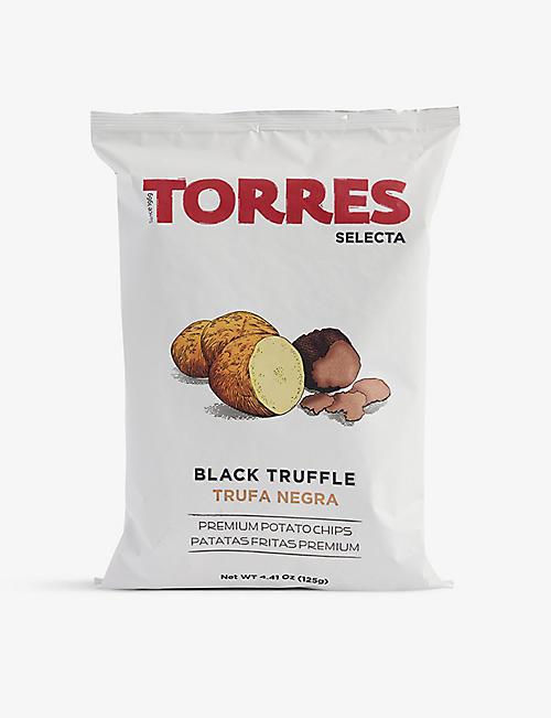 TORRES Black truffle crisps 125g