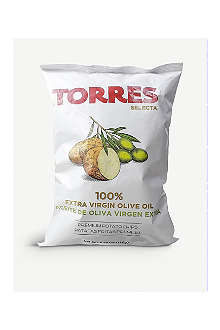 TORRES Extra virgin olive oil crisps 150g