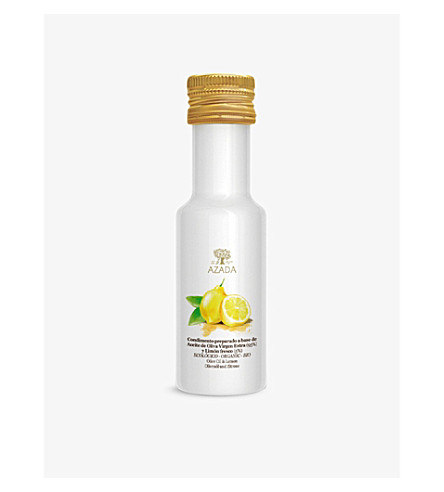 AZADA Extra virgin olive oil & Lemon 100ml