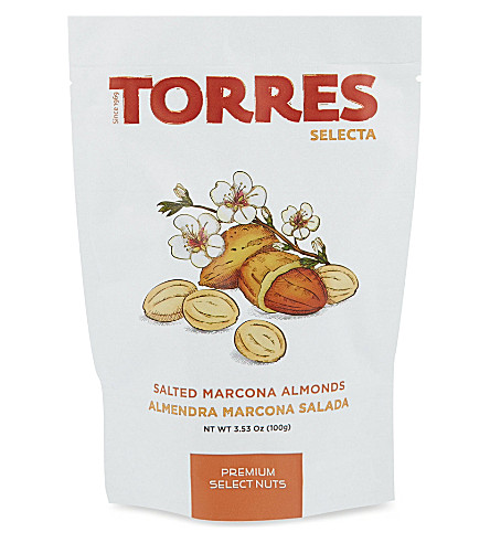 TORRES Salted marcona almonds 100g