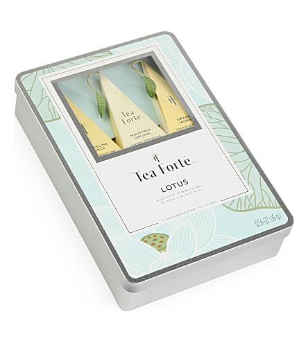 TEA FORTE Lotus Medium Tin