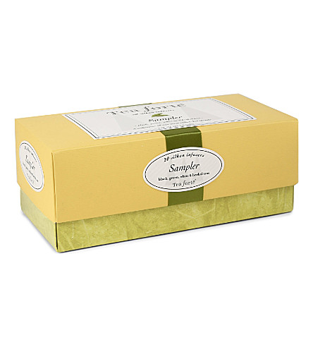TEA FORTE Tea Sampler collection box 59g