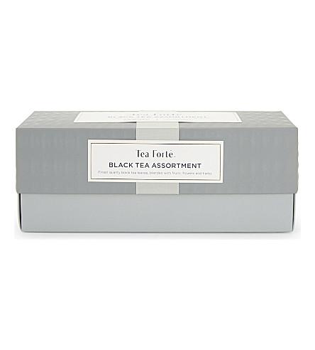 TEA FORTE Classic Collection black tea assortment 64g