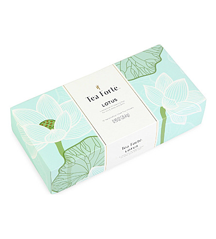 TEA FORTE Lotus large tin