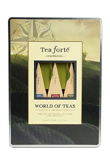 TEA FORTE World of Tea large loose leaf tea tin 48g
