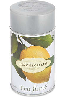 TEA FORTE Lemon Sorbetti loose leaf green tea 60g
