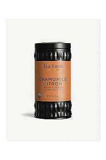 TEA FORTE Chamomile citron loose leaf herbal tea 50g