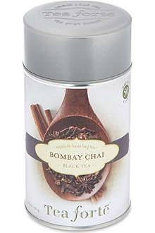 TEA FORTE Bombay chai loose leaf black tea 130g