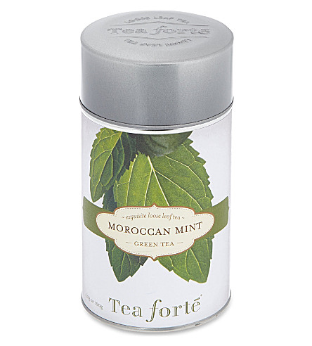 TEA FORTE Moroccan mint loose leaf green tea 120g