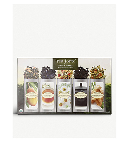 TEA FORTE Classic single steep sampler collection 63g