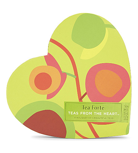 TEA FORTE Teas from the heart set of five 15g