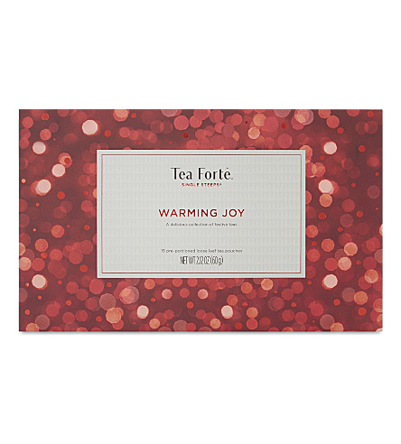 TEA FORTE Warming Joy loose leaf tea set