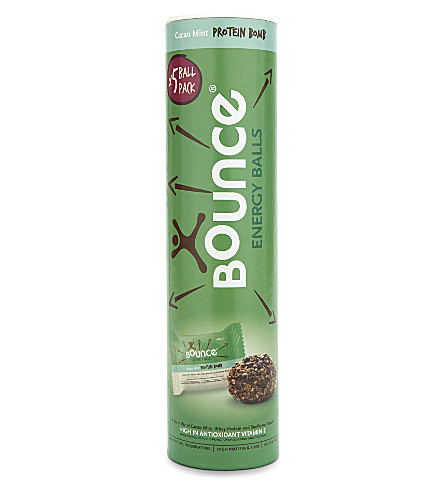 BOUNCE BALLS Bounce balls mint cacao 5 pack 210g
