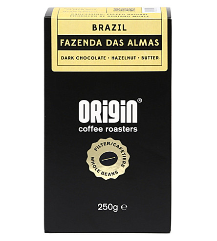 ORIGIN COFFEE Brazil Fazenda Das Almas filter roast coffee 250g