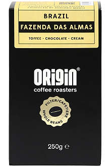 ORIGIN COFFEE Brazil Fazenda Mariano filter roast coffee 250g