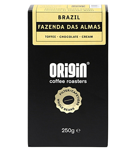ORIGIN COFFEE Brazil Fazenda Mariano filter roast coffee 250g