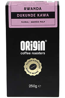 ORIGIN COFFEE Rwanda Dukunde Kawa espresso roast coffee 250g