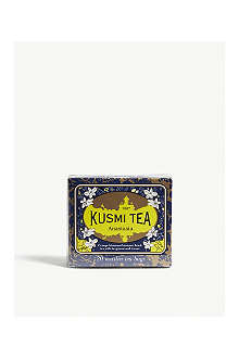 KUSMI TEA Anastasia Earl Grey, Lemon and Orange Blossom tea bags 44g