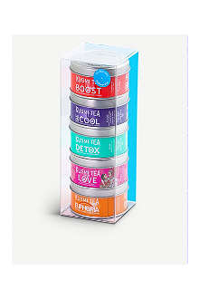 KUSMI TEA Wellness Teas Miniature sampler set 5x25g