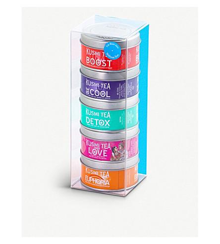 KUSMI TEA Wellness Teas Miniature sampler set 5x25g
