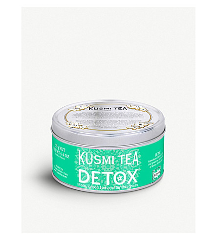 KUSMI TEA Detox loose leaf tea 125g