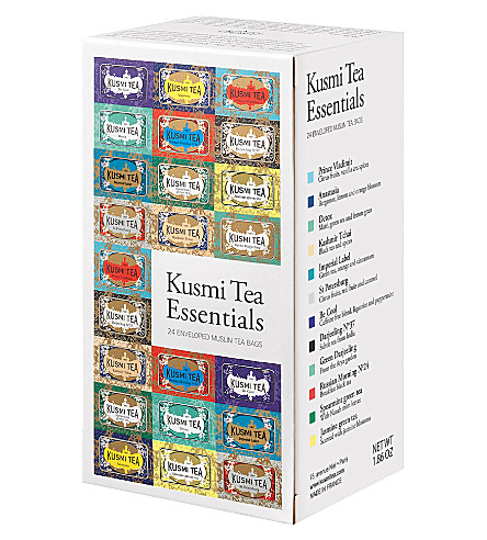 KUSMI TEA Tea Essentials gift box 528g